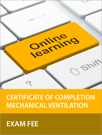 Photo for the Mechanical Ventilation Certificate of Completion Exam Fee
