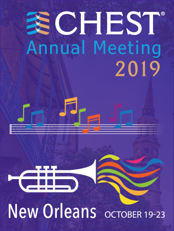 CHEST Annual Meeting 2019