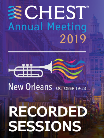 CHEST 2019 Recorded Sessions