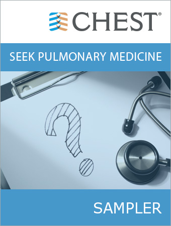 CHEST SEEK Pulmonary Medicine Sampler