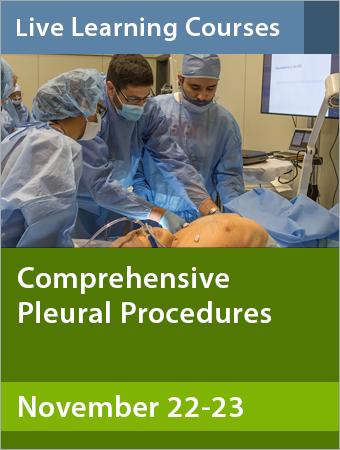 Comprehensive Pleural Procedures November 2019
