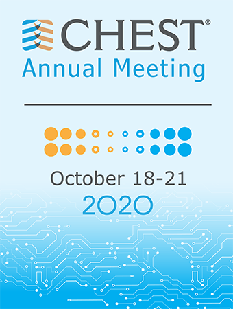 CHEST Annual Meeting | October 18 - 21, 2020