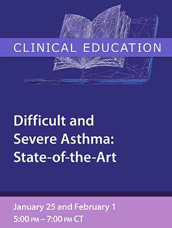 PG: Difficult and Severe Asthma: A State of the Art