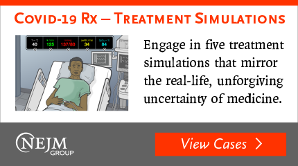 NEJM Group COVID-19 Rx - Treatment Simulations