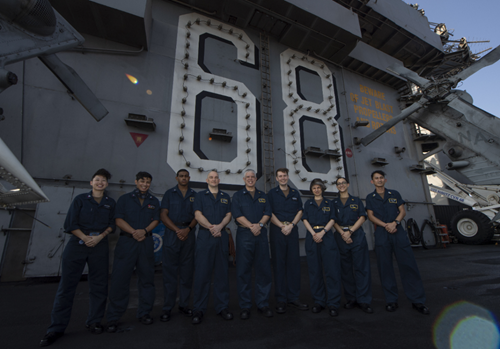 The USS Nimitz COVID-19 Response Team