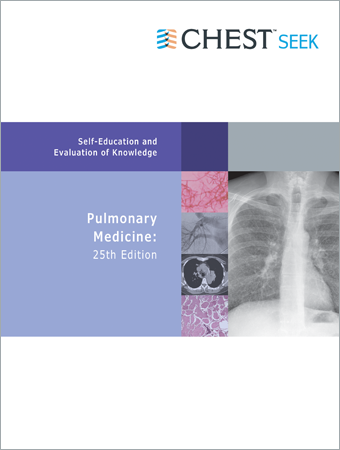 CHEST SEEK Pulmonary Medicine: 25th Edition