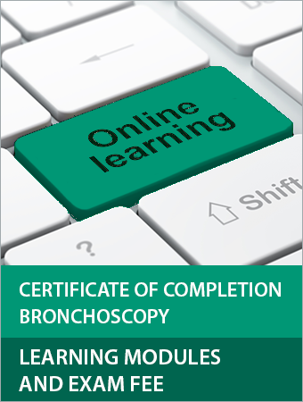 Certificate of Completion Bronchoscopy Learning Modules and Exam Fee