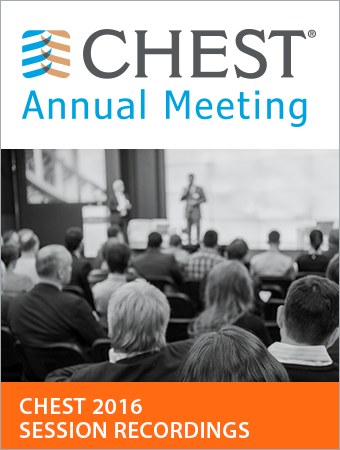 CHEST 2016 Session Recordings