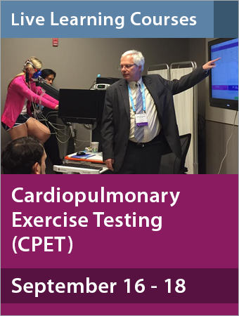 cardiopulmonary exercise testing cpet september  american college  chest physicians