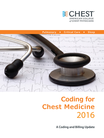 Coding for Chest Medicine 2016