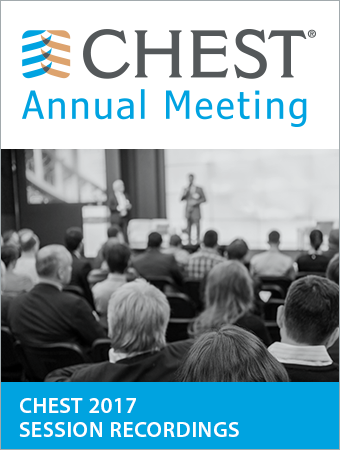 CHEST 2017 Recorded Sessions