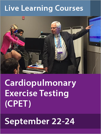 Cardiopulmonary Exercise Testing September 2017