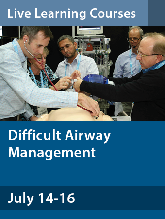 Difficult Airway Management July 2017