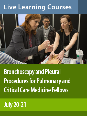 Product photo for Bronchoscopy and Pleural Procedures for Pulmonary and Critical Care Medicine Fellows course