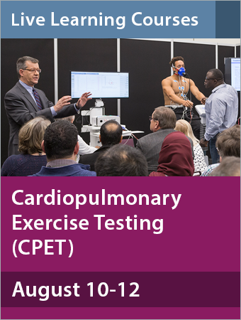 Cardiopulmonary Exercise Testing (CPET) August 2018