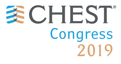 Logo for CHEST Congress 2019