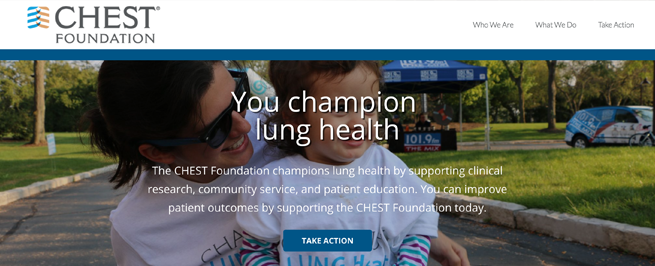 The CHEST Foundation has a new website